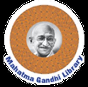 Mahatma Gandhi Library Logo